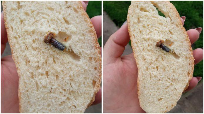 болт у хлібі