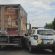ДТП у Франківську: поліцейське авто в'їхало у легковик та вантажівку