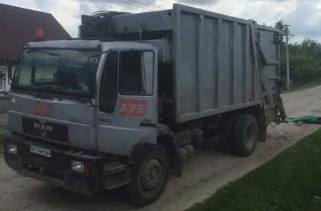 ДТП, сміттєвоз, Угорники