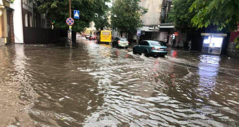 потоп в Івано-Франківську