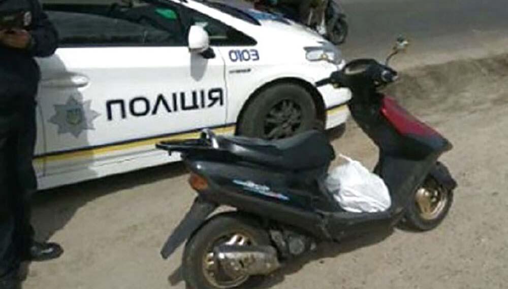 скутер, п'яний водій
