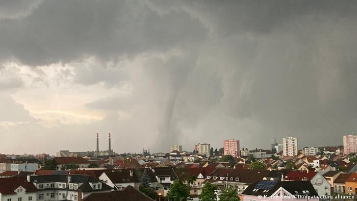 торнадо у Чехії