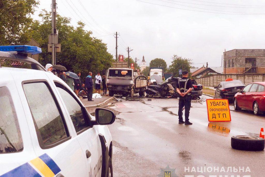 аварія на Прикарпатті