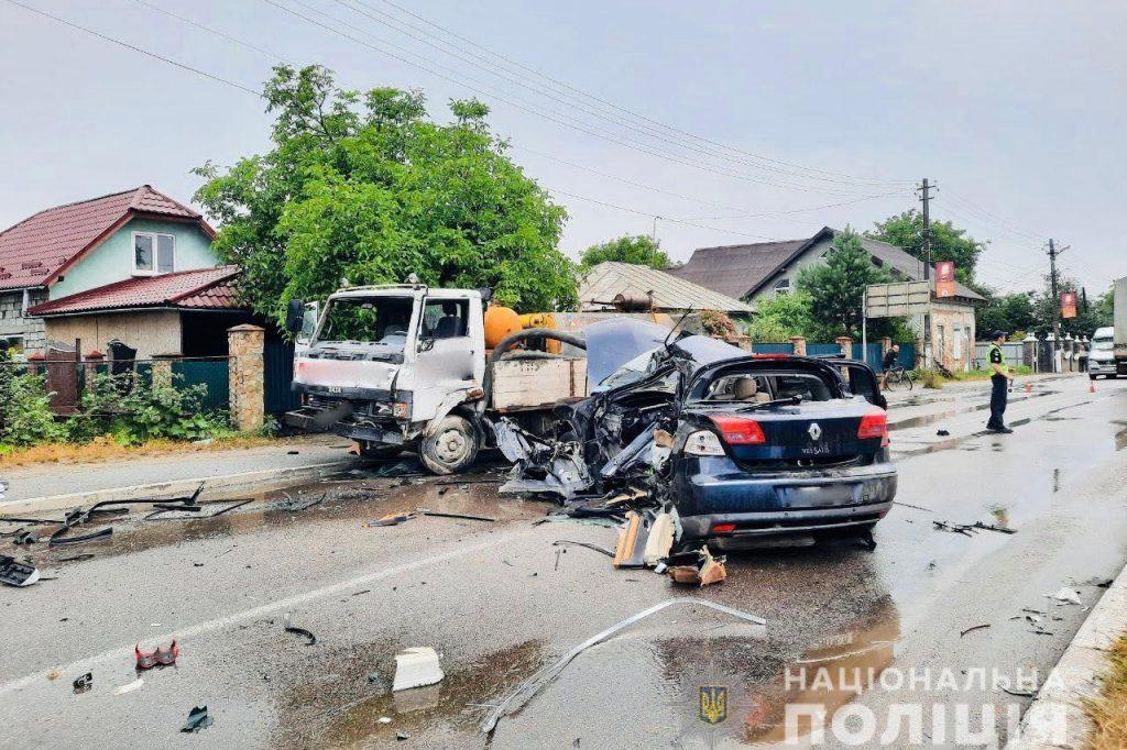 аварія у Бурштині