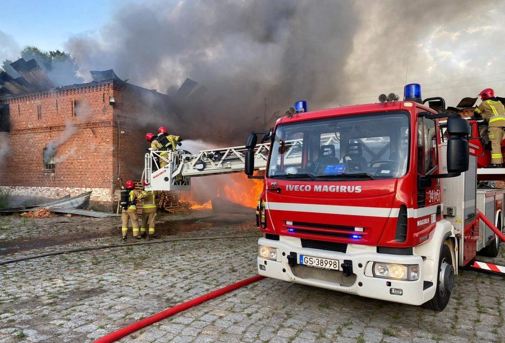 пожежа у Польщі