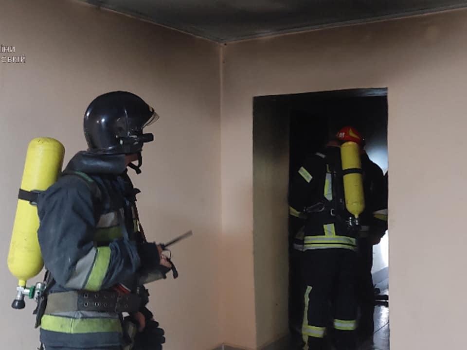 пожежа у гуртожитку, Франківськ