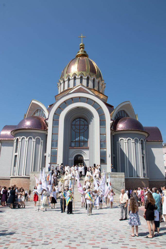 Івано-Франківськ, церква святих Володимира і Ольги