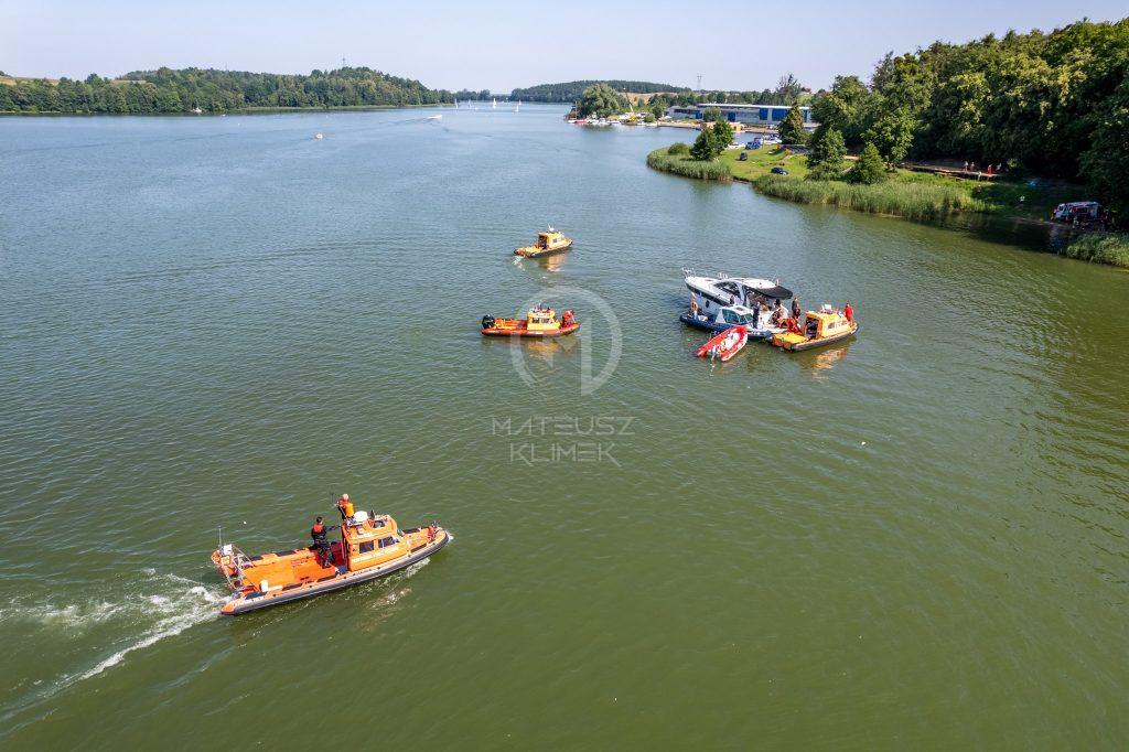 вертоліт впав в озеро, українці в Польщі