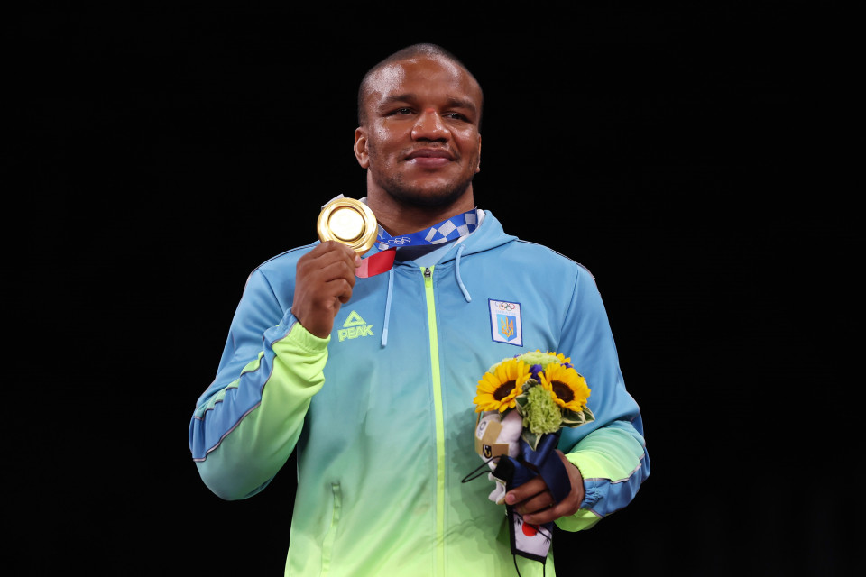 Жан Беленюк, олімпійський чемпіон