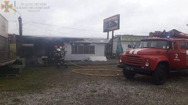 Павлівка, кафе, пожежа