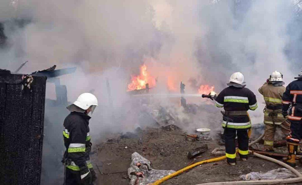 циганський табір, пожежа